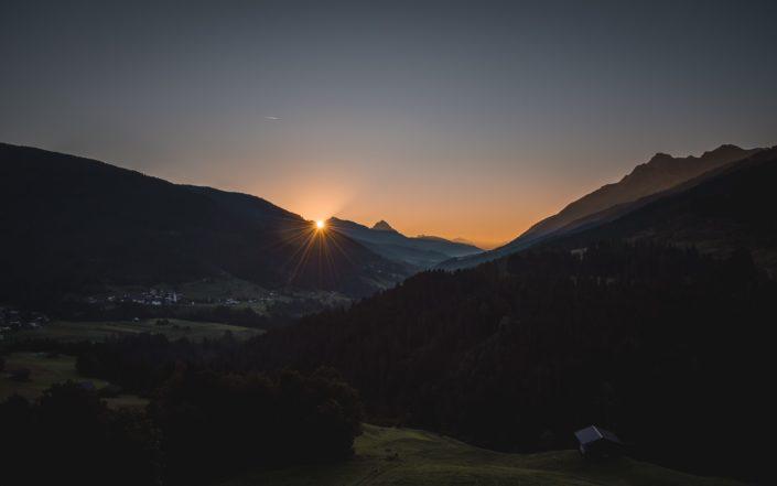 Lesachtal Sonnenaufgang